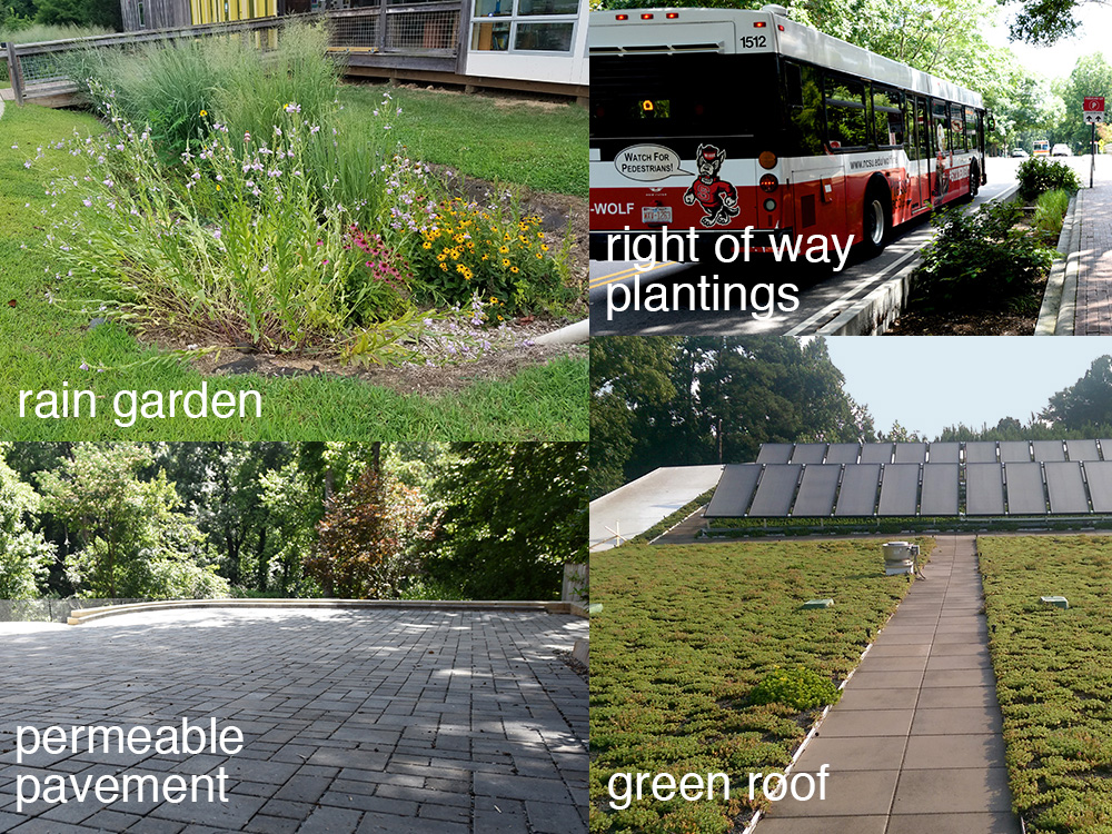 Using Green Stormwater Infrastructure in Land Development